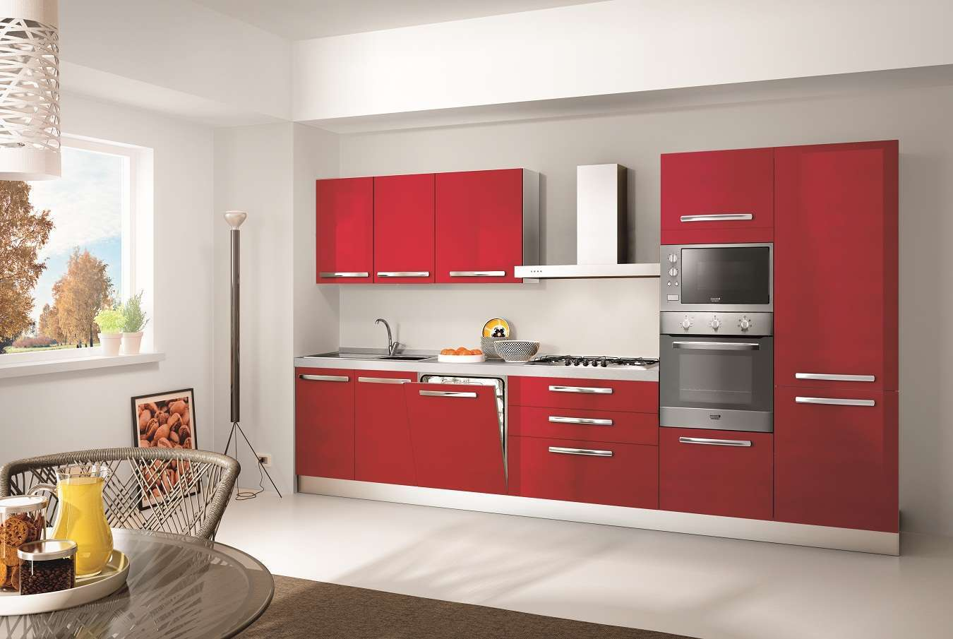 Mobili da cucina da incasso design casa creativa e - Misure mobili da cucina ...