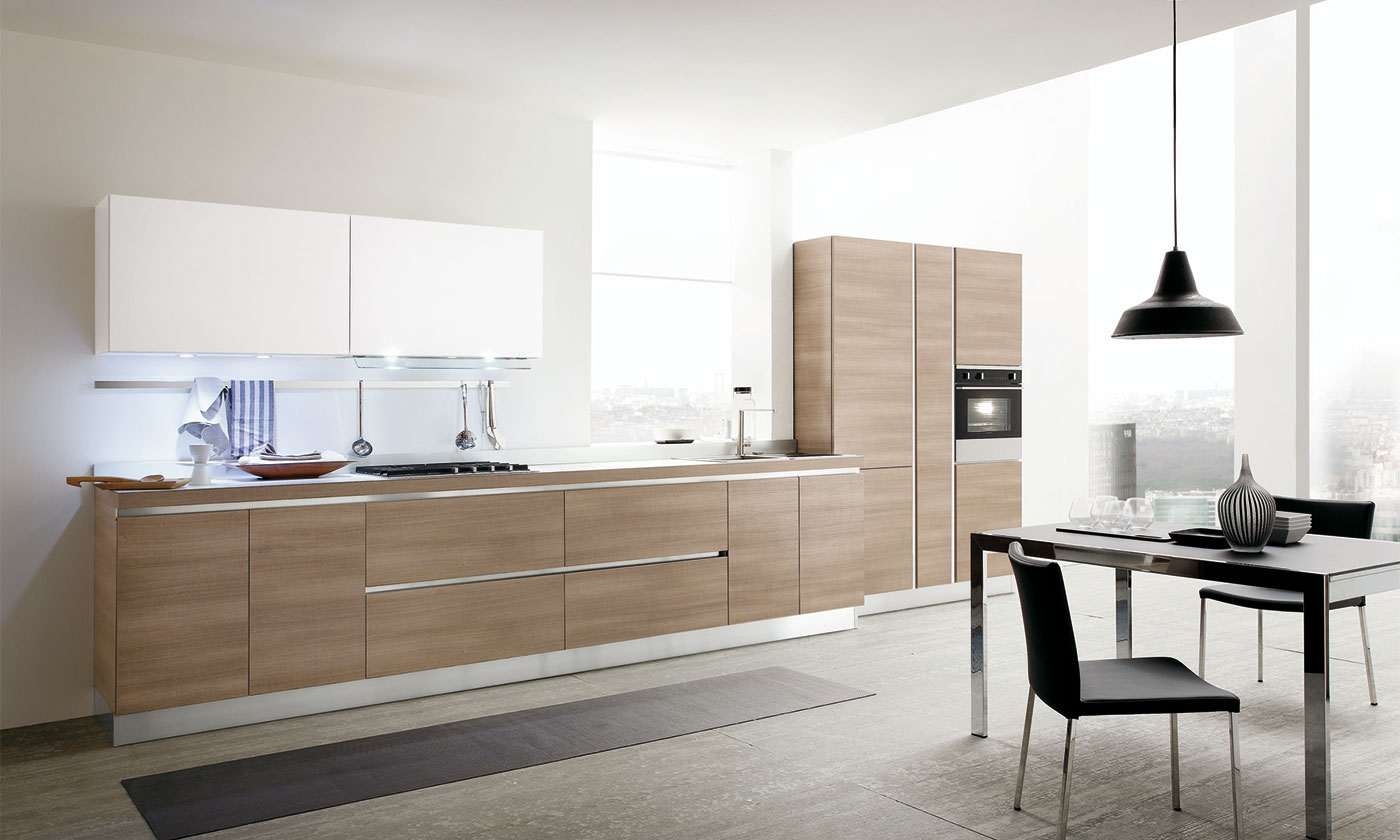 Cucina Moderna Senza Pensili Excellent Cucine Ikea Catalogo E